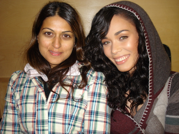 Rishma Malik Scott on-set 7